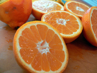 Minneola Tangerine for a longer healthy life