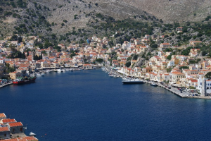 Long Healthy Life in Symi Greece